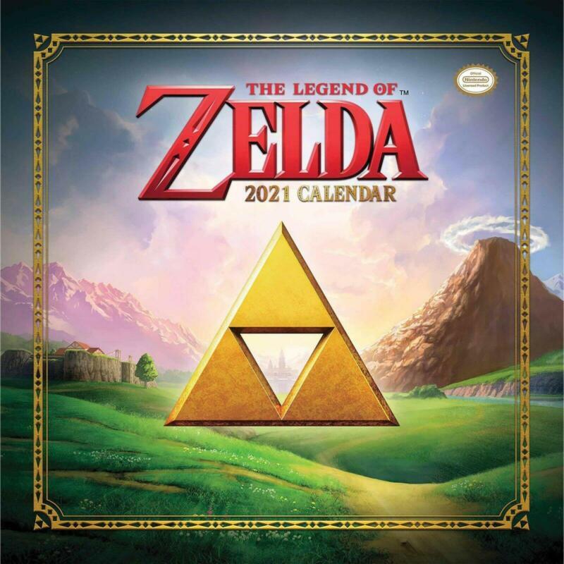 The+Legend+of+Zelda+2021+Calendar+Nintendo
