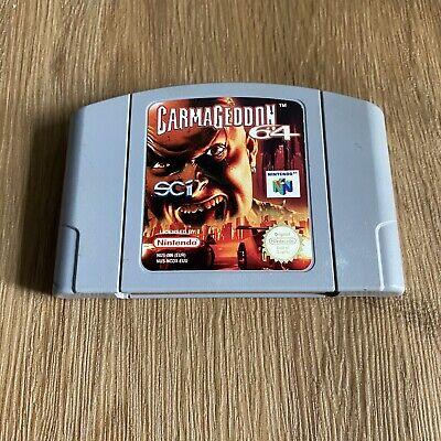 Carmageddon 64 - Nintendo 64 N64 - PAL - Cartridge Only