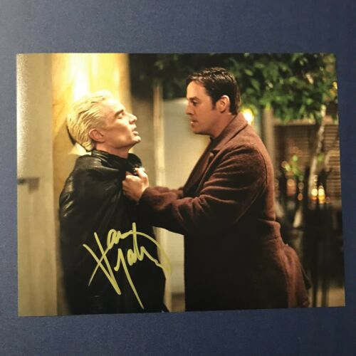 JAMES MARSTERS SIGNED 8x10 PHOTO ACTOR AUTOGRAPHED BUFFY THE VAMPIRE SLAYER COA - $21.24