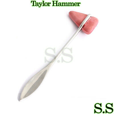 Taylor Percussion Reflex Hammer Stainless Steel Medical Surgical