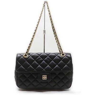 Givenchy Shoulder Bag Black Leather 1906071