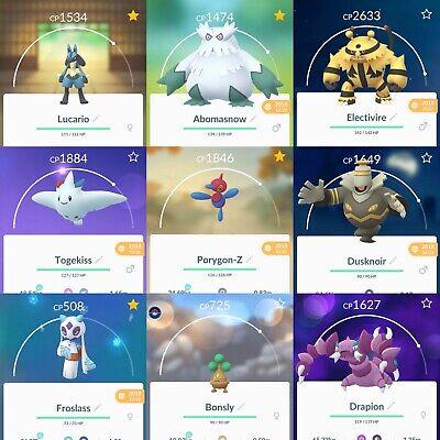 Shiny Rare Pokemon Go Trades