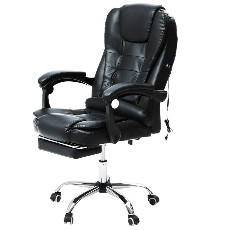 Bürosessel Chefsessel Schreibtischstuhl Drehstuhl Kunstleder Drehstühle Massage