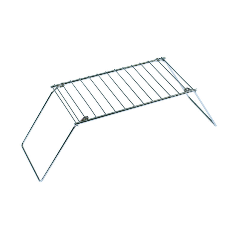 STANSPORT 613 FOLDING PACK GRILL HEAVY GAUGE CHROME PLATED STEEL NEW