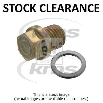 Mercedes Coupe C124 230 CE Genuine Febi Engine Oil Sump Pan Gasket