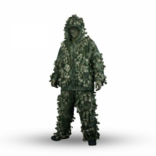 """Sniper Camouflage Ghillie Suit 3D """"Chimera"""" A-TACS FG Camo"""