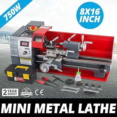"Präzisions Metalldrehmaschine Mini-Drehmaschine 8""X16"" Drehbank CNC Maschine"
