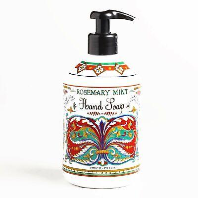 Hand Soap Rosemary Mint (Deruta Rosemary Mint Hand Soap 17 oz each )