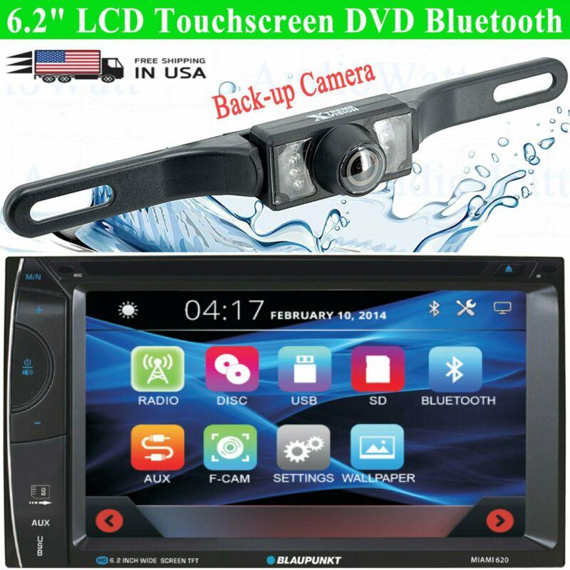 "Blaupunkt Miami 620 Car Audio 2 Din 6.2"" Touchscreen DVD Bluetooth + Rear Camera"