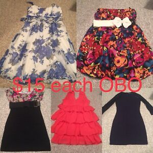 REDUCED! - Size SMALL dresses & skirts in excellent condition!