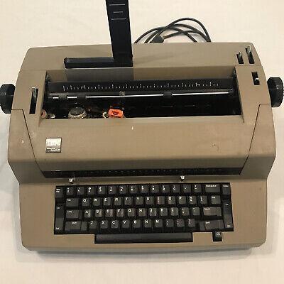 Typewriter Vintage Electric Ibm Correcting Selectric Iii Typewriter Parts Repair