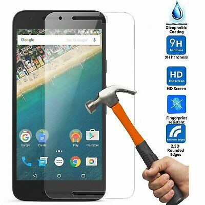 Premium Clear Slim Tempered Glass Screen Protector for Google Huawei Nexus 6P Cell Phone Accessories