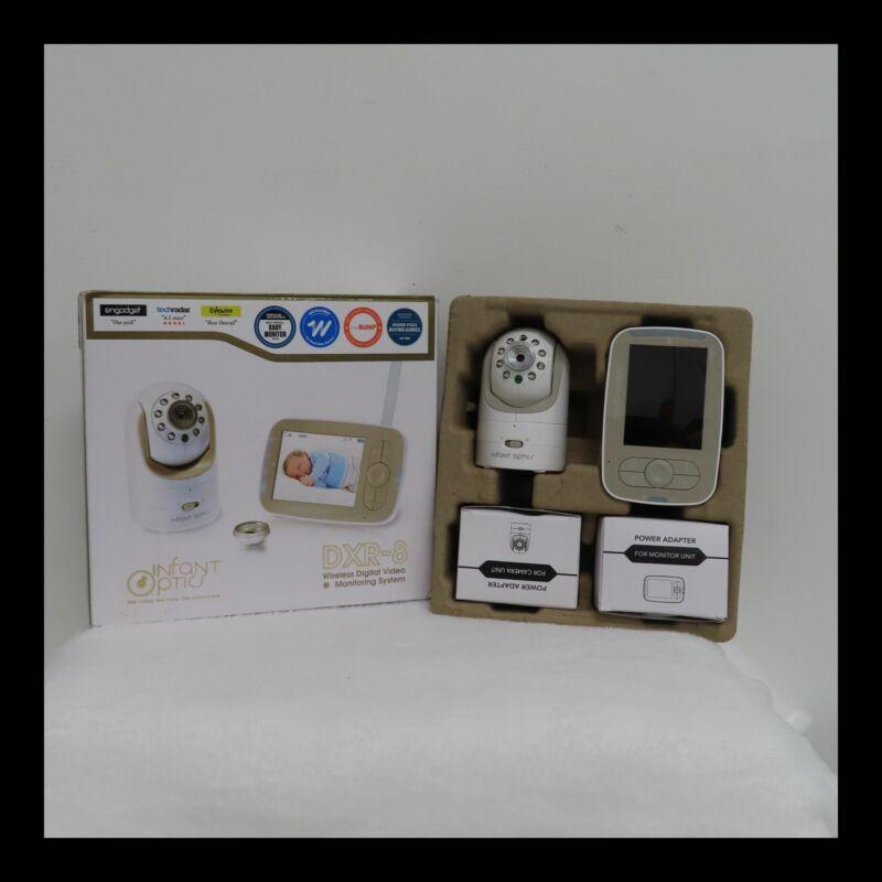 Infant Optics Dxr-8 Video Baby Monitor Interchangeable Optical Lens White 132212