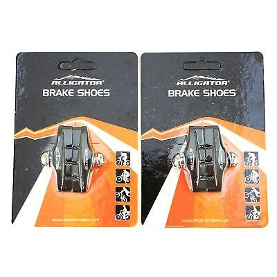 - 1 or 2 pair Alligator Bike Road brake shoes pads fit Shimano 105 Ultegra DuraAce