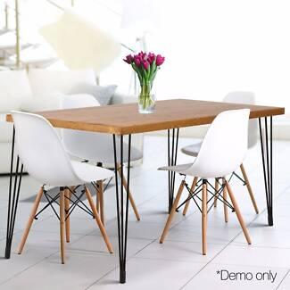 Rustic Industrial DIY Pipe Dining Table-Free shipping