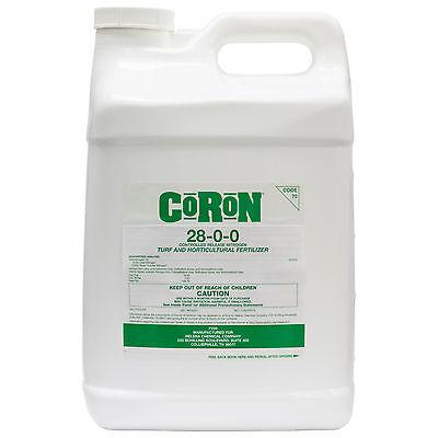 CoRoN 28-0-0 Controlled Release Liquid Fertilizer 2.5 Gls Ni