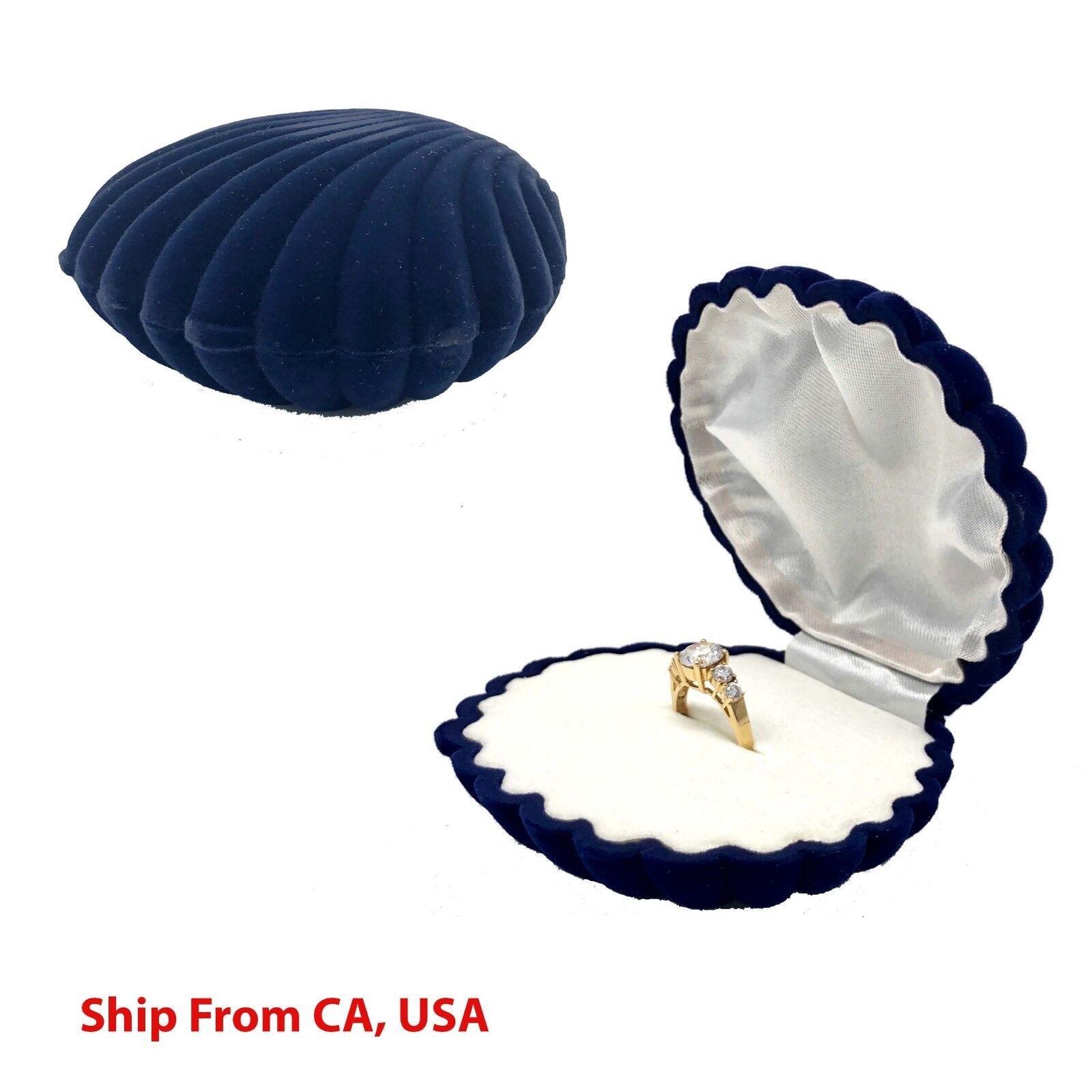 Ring Box | wedding proposal box | Sea Shell Ring jewelry Box