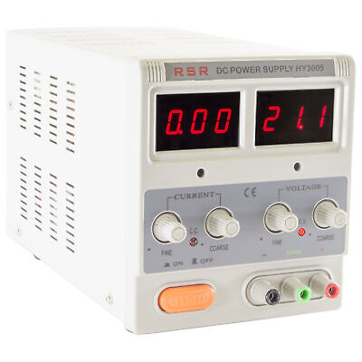 Variable Dc Power Supply With Led Display Voltage 0-30v Current 0-5 Amp