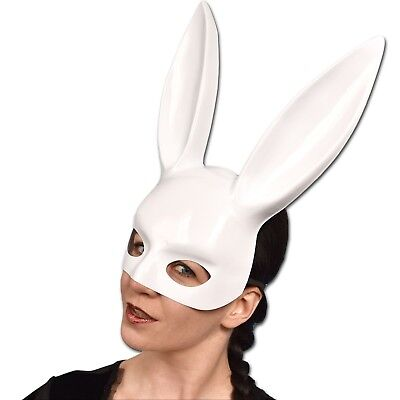sexy BUNNY Lack Ohren Maske* Halbmaske Hase Bunny* - Playboy Bunny Ohren