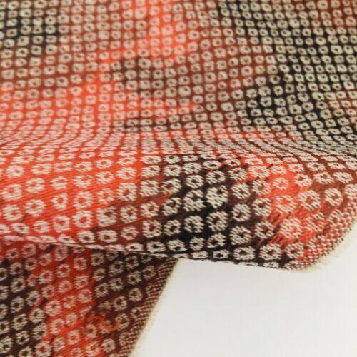 Fall Season Wool UnUsed Bolt BY THE YARD Japanese Kimono Fabric BW66