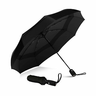 Windproof Automatic Double Ventilated Umbrella Durable Frame Sturdy Material
