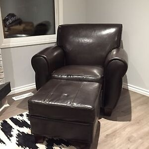 Chocolate Brown Vinyl Chairs