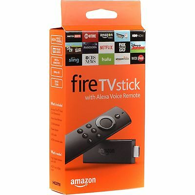 AMAZON FIRE STICK ALEXA VOICE REMOTE NEWEST 2ND GENERATION BRAND NEW FIRE TV