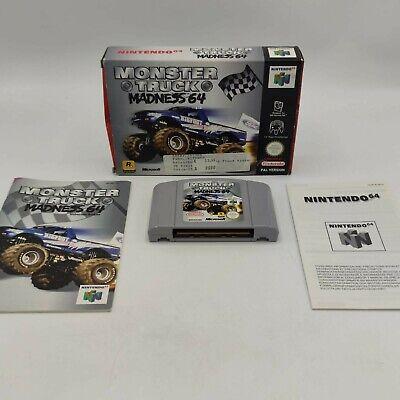 Monster Truck Madness 64 Nintendo 64 N64 Spiel Wie Neu Getestet