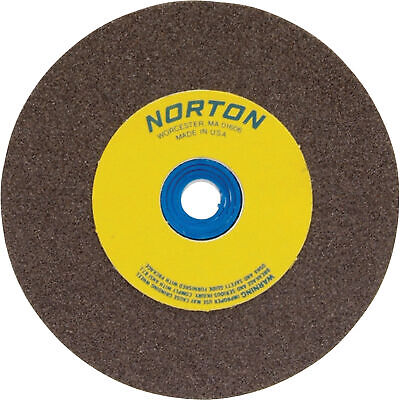 Norton Grinding Wheel-6in. X 1in. Brown Aluminum Oxide60 Grit