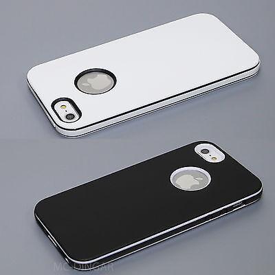 Apple UltraThin Slim Design Soft  Hybrid PC Bumper Case Cover For iPhone 5 5S SE