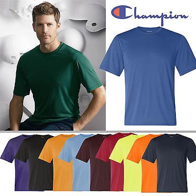 Champion Double Dry T-shirt (Champion Double Dry Performance T-Shirt Mens Sports Shirts S M L XL 2XL 3XL CW22)