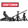 NEW Craftsman 2 1/4 Ton Hydraulic Floor Jack Set w/ 2 Jack Stands Auto Car Tool