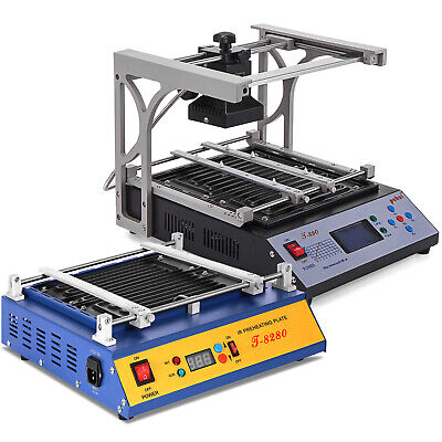 T-8280 T-890 Bga Infrared Heating Rework Station Smt Smd Irda Soldering Machine