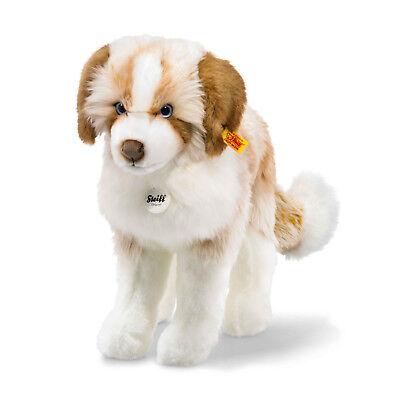 Steiff 076077 Cookie Hund 079641 Kuscheltier 38 cm Neu & Ovp
