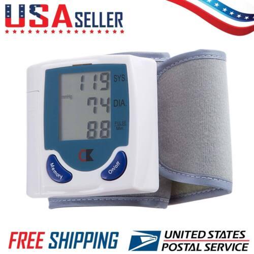 Купить Automatic Digital Wrist Cuff Blood Pressure Monitor Heart Beat Rate Pulse Meter