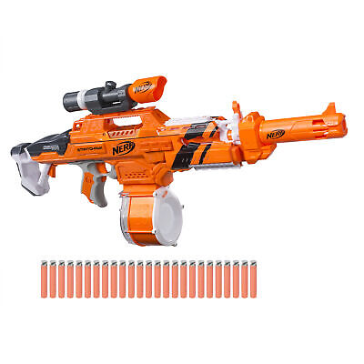 Nerf N-Strike Elite AccuStrike Stratohawk with 25-Dart Drum Orange NEW