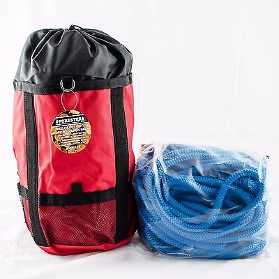 Samson True Blue Tree Climbing Rope 7300 Lb 12 Strand Rope 12x 200 W Bag