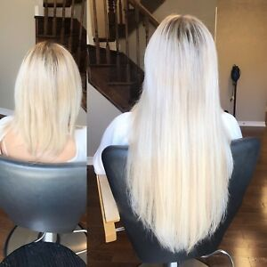PROFESSIONAL HAIR EXTENSIONS- TAPE IN AND FUSION!