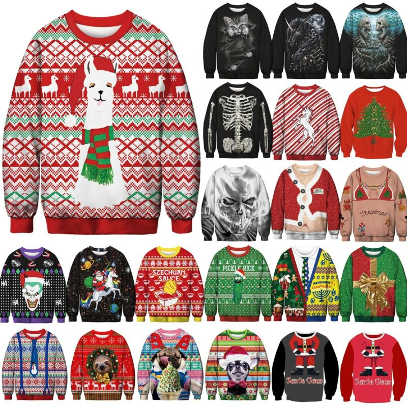 Carnival Unisex Ugly Sweater Womens Mens Funny Jumper Sweats