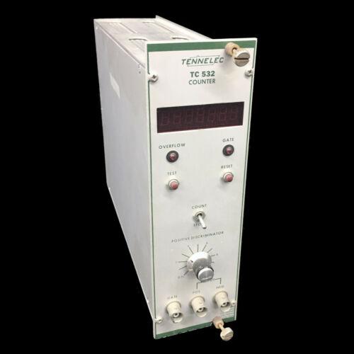 Tennelec TC-532 Counter Nim Bin Module TC532