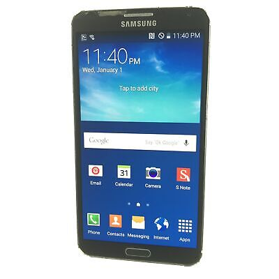 Samsung Galaxy Note 3 32GB SM-N900A (AT&T) Android Smartphone (B-36)
