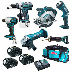 MAKITA 18V LXT LI ION LXT600 6 PIECE KIT