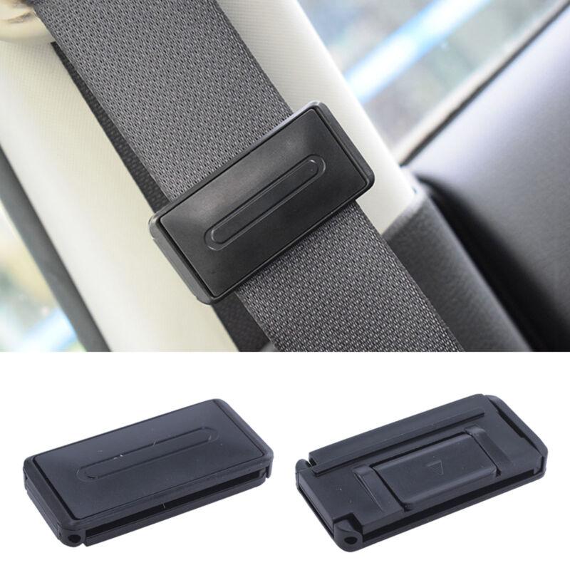 2Pcs Car Seat Belt Safety Adjuster Clips Clamp Stopper Buckle Improves Comfor RU