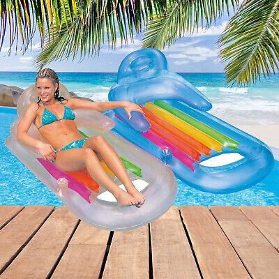 Intex Matratze Luftmatratze Pool Sessel Lounge Badeinsel Liege Wasserliege 58802