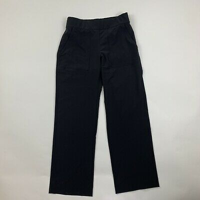 Women's ATHLETA Chelsea  Wide Leg Pants Color Black sz 4