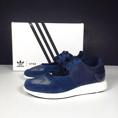 Adidas Originals Tokyo HYKE Trainers Navy Suede Active Breathable Gym UK 5 NEW