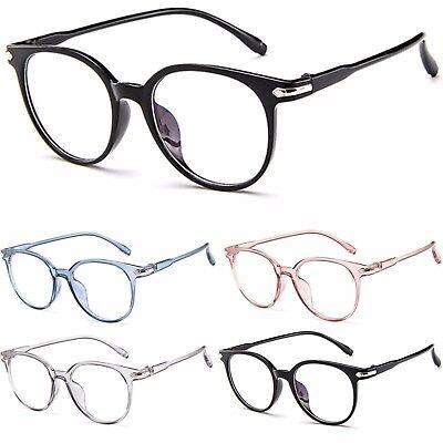 Womens Clear Lens Transparent Colour Frame Fashion (Coloured Lens Glasses)