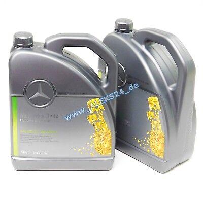 10L Orig Mercedes Synthetic Motoröl Ölservice 5W30 MB 229.51 A000989701 10 Liter online kaufen