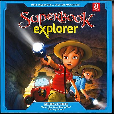 Fiery Furnace Bible Story (CBN SuperBook DVD: Explorer Vol.8: Esther • Fiery Furnace -  Bible)