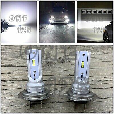 H7 CSP LED Headlight High Low Beam Bulbs Kit 6000K White 35W 8000LM Super Bright